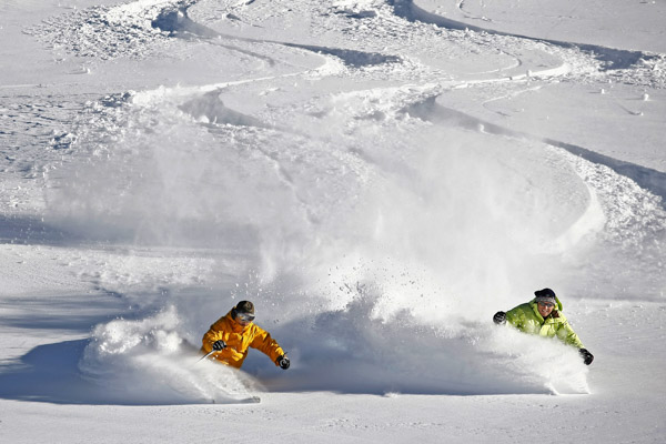 How To Ski In Powder Like A Pro 4 Easy Steps