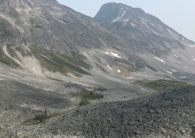 alpine hiking helicopter access remote exclusive Lodge British Columbia Canadian Rockies